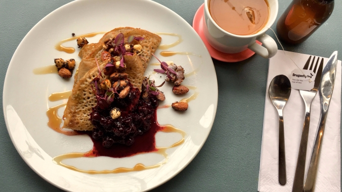 Cafe Hara - Buckwheat crapes